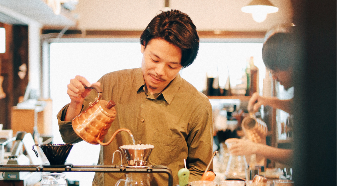 "SOERU COFFEEの木下拓朗がコーヒーに教えられた""過程""の重要性"